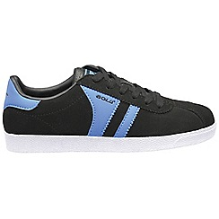 Gola - Black/Blue 'Amhurst' trainers