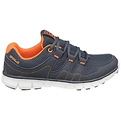 Gola - Navy/orange 'Termas' trainers