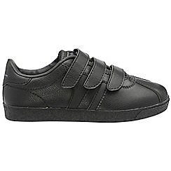 Gola - Black 'Amhurst Rip Tape' trainers