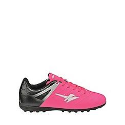 Gola - Boys' pink/black 'Talos Vx' astroturf trainers