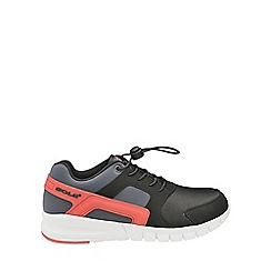 Gola - Boys' black/red 'Toggle' trainers