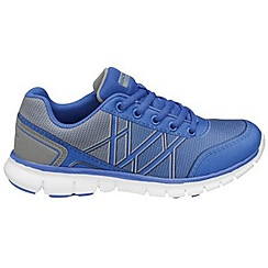 Gola - Reflex blue/silver 'G-Blast' trainers