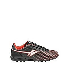 Gola - Boys' black/red 'Ion Vx' astroturf trainers