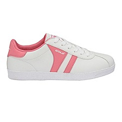 Gola - White/Pink 'Amhurst' trainers