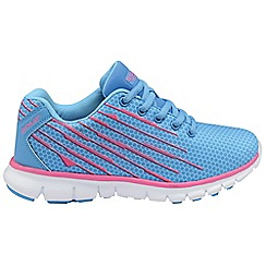 Gola - Blue/pink 'Trojan' trainers
