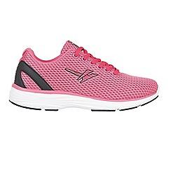 Gola - Pink/black 'Equinox' trainers