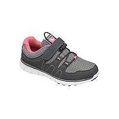 Gola - Charcoal/Grey/Pink 'Termas Toggle' trainers