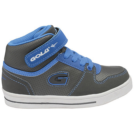Gola - Grey/Blue Gola +Indy Hi+ unisex hi top shoes