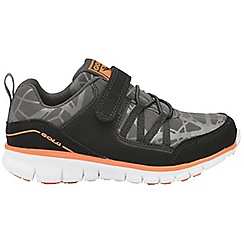 Gola - Black/Orange 'Luna' boys sports trainers