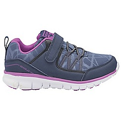 Gola - Navy/Purple 'Luna' girls sports trainers