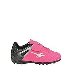 Gola - Kids' pink/black/silver 'Talos Vx' trainers