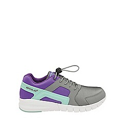 Gola - Kids' grey/purple/mint 'Santo Toggle' trainers