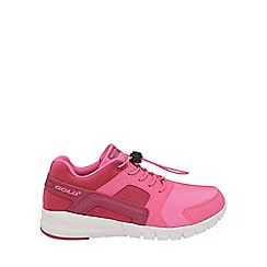 Gola - Kids' pink/beetroot 'Santo Toggle' trainers