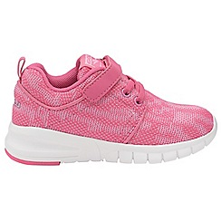 Gola - Pink/White 'Angelo' childrens sports trainers