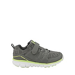 Gola - Kids' grey/black/lime 'Termas 2' trainers
