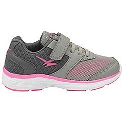 Gola - Grey/Pink 'Geno' girls sports trainers