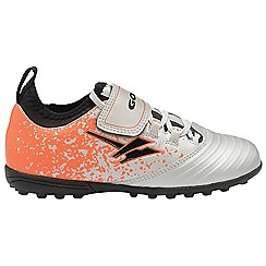 Gola - Silver/Orange 'Stimson' childrens trainers