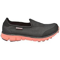 Gola - Black/pink sole 'Mystic' trainers