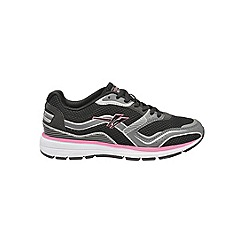 Gola - Black/Silver/Pink 'LT-Speed' trainers