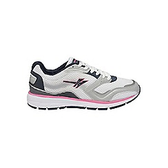 Gola - White/Navy/Pink 'LT-Speed' trainers