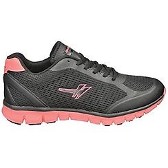 Gola - Black/pink 'Calera' trainers