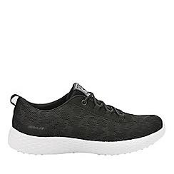 Gola - Black/white 'Izzu' ladies lace up trainers