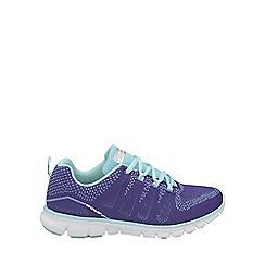 Gola - Purple/mint 'Tempe' ladies lace up trainers