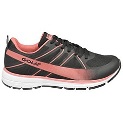 Gola - Black/pink 'G-max' trainers