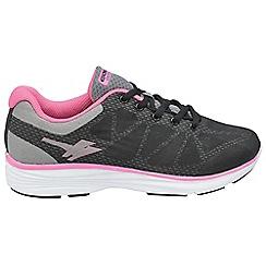 Gola - Black/grey/pink 'Ice' trainers
