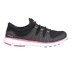 Gola - Black/pink 'Solar' trainers