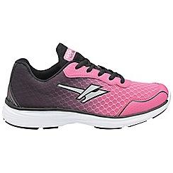 Gola - Pink/black 'Vallis' trainers