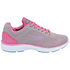 Gola - Grey/pink 'Nebula' trainers