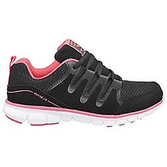 Gola - Black/pink 'Termas 2' trainers