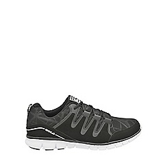 Gola - Black/white 'Termas 2' ladies lace up trainers