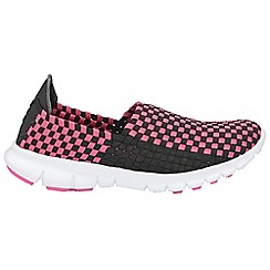 Gola - Black/pink 'Panas' trainers