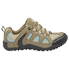 Gola - Taupe 'Elias' ladies lace up sports trainers