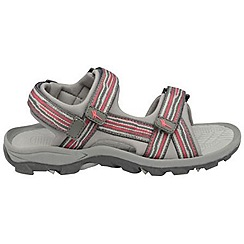 Gola - Hot pink/charcoal/grey 'Pilgrim' sandals