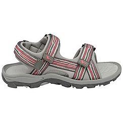Gola - Hot pink/charcoal/grey 'Pilgrim' sandals