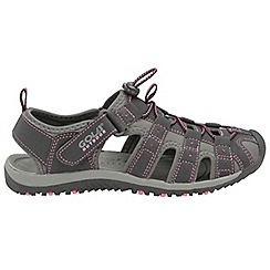 Gola - Black/pink 'Shingle 3' ladies outdoor sandals