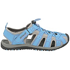 Gola - Blue/grey 'Shingle 3' ladies outdoor sandals