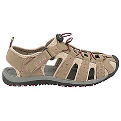 Gola - Taupe/pink 'Shingle 3' ladies outdoor sandals