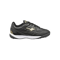 Gola - Black/Gold 'Pitch' trainers