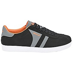 Gola - Black/grey/orange 'Amhurst' trainers