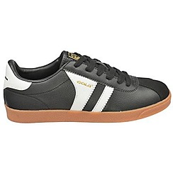 Gola - Black/white/gold 'Amhurst' trainers