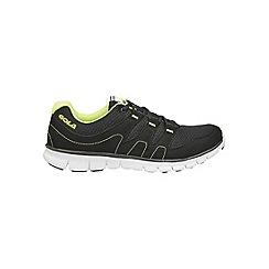 Gola - Black/Lime 'Termas' trainers