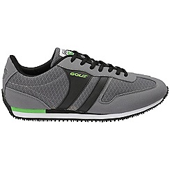 Gola - Grey/green/blk 'Clearwater' mens lace up shoes