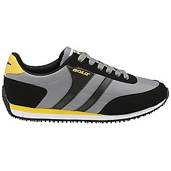 Gola - Black/Grey/Yellow 'Renew' nylon mens shoes