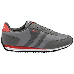 Gola - Grey/Charcoal/Red 'Renew' nylon mens shoes