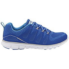 Gola - Blue 'Tempe' men's lace up sports trainers