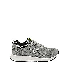 Gola - Grey/black 'Zenith' mens lace up trainers